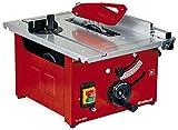 Einhell TC-TS 1200 Sega Circolare, Lama Regolabile in Altezza, 900 W, Rosso, Grigio