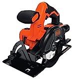 BLACK+DECKER BDCCS18N-XJ Sega Circolare Senza Batteria, Arancione/Nero, 18V