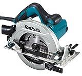 Makita HS7611 HS7611-Sierra Circular 1.600W 190mm, 1600 W, 230 V, Nero, 66 mm