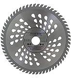Lama per sega circolare di altissima qualità (Skill Saw), 180 x 22,22mm (16mm e 20mm con anello di riduzione) per il taglio del legno, dischi di lare, 60denti