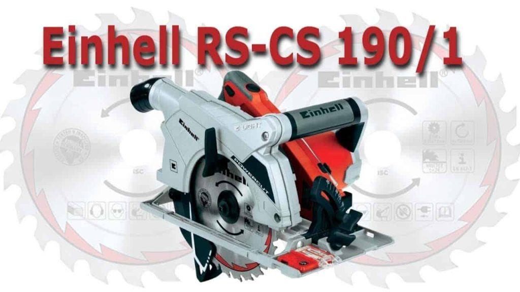 Einhell RT CS 190_1 potenza 1500 watt